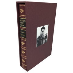 1984 by George Orwell, 1st Edition in Special Leather Binding, 1949