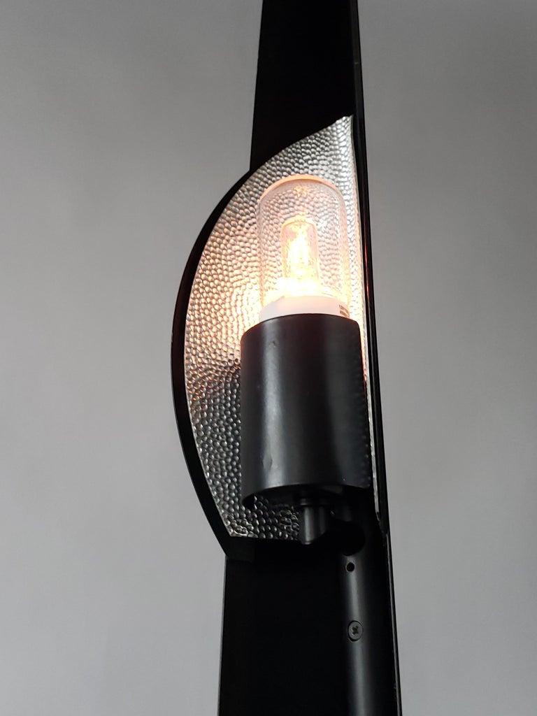 1986 Gilles Derain 'Flamme' Halogen Floor Lamp, Lumen Center, Italy For Sale 3