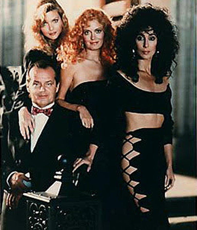 1987 Cher Witches of Eastwick Movie-Worn Alaia Lace Up Fishtail Skirt & Crop Top In Excellent Condition For Sale In Beverly Hills, CA