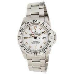 1987 Tiffany & Co. Rolex Explorer Patina Watch 16570