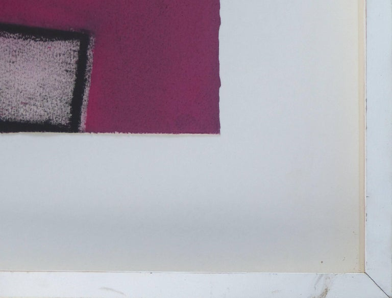 1989 Postmodern Mixed-Media Painting For Sale 1