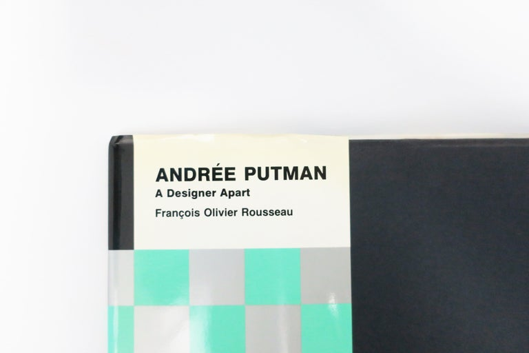 Spanish 1990 Andree Putman A Designer Apart Library or Coffee Table Book For Sale