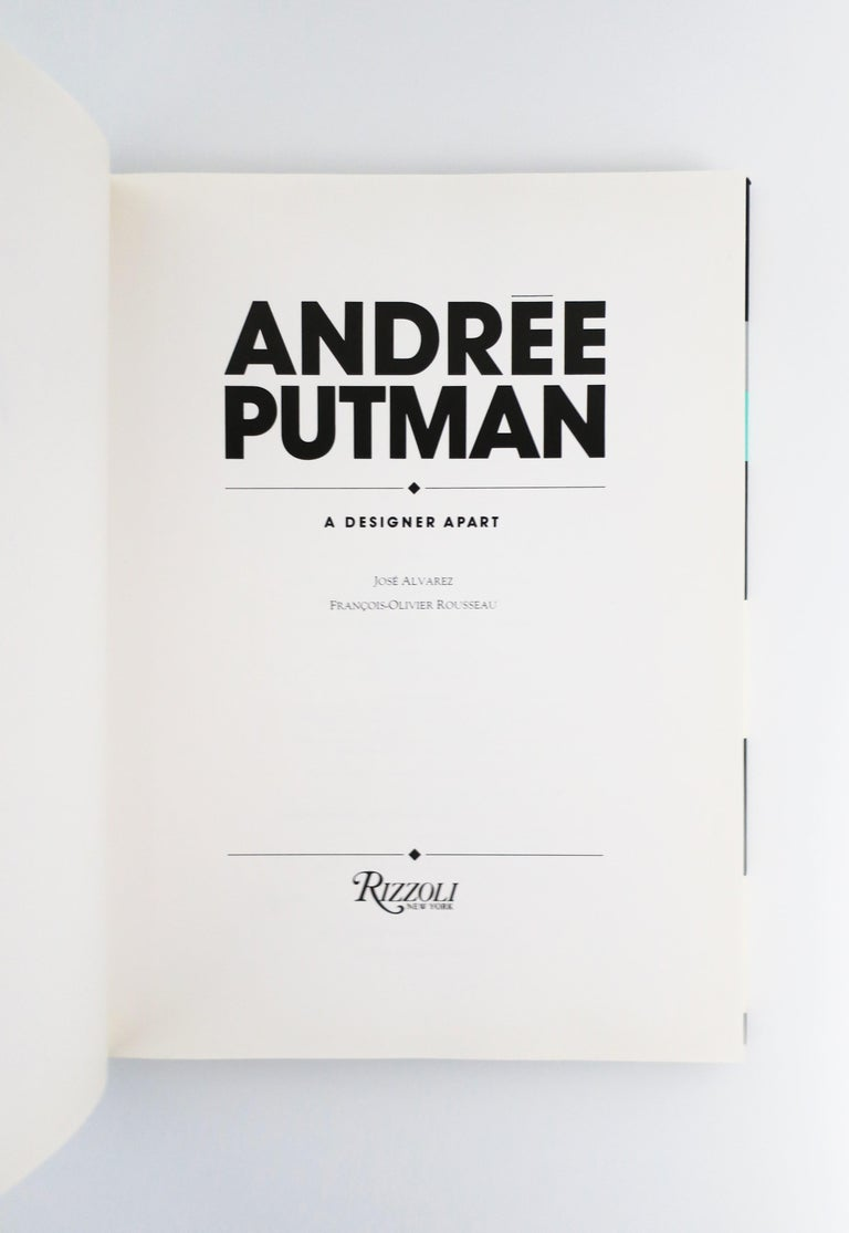 1990 Andree Putman A Designer Apart Library or Coffee Table Book In Good Condition For Sale In New York, NY