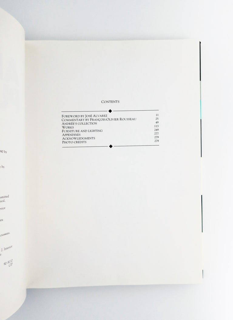 Paper 1990 Andree Putman A Designer Apart Library or Coffee Table Book For Sale