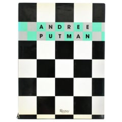 Andree Putman A Designer Apart Library or Coffee Table Book, 1990s