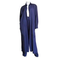 1990s Alaia Coat and Pants Suit