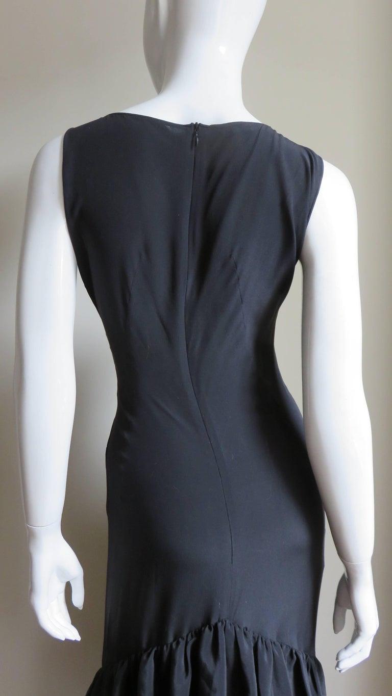Alexander McQueen New Silk Dress with Ruffles S/S 1999 For Sale 3