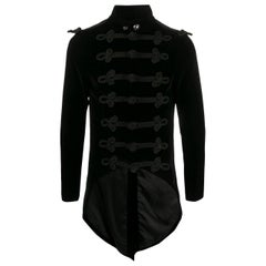 1990s A.N.G.E.L.O. Vintage Cult Black Velvet Jacket