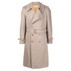 1990s A.N.G.E.L.O. Vintage Cult Grey Wool Coat