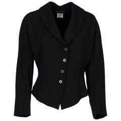 1990s Ann Demeulemeester Black Jacket