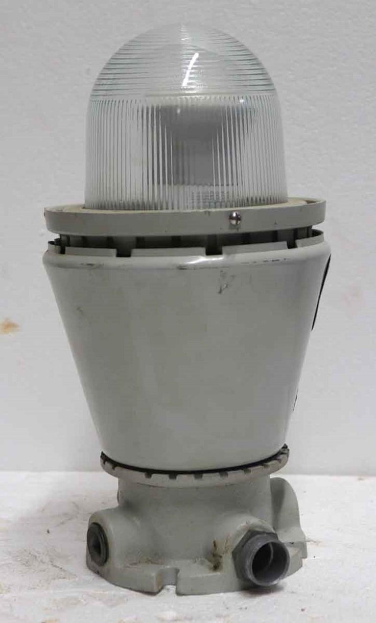 Late 20th Century 1990s Appleton A-51 Series Industrial Explosion Proof Ceiling Light For Sale