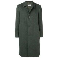 1990s Aquascutum Green Wool Coat