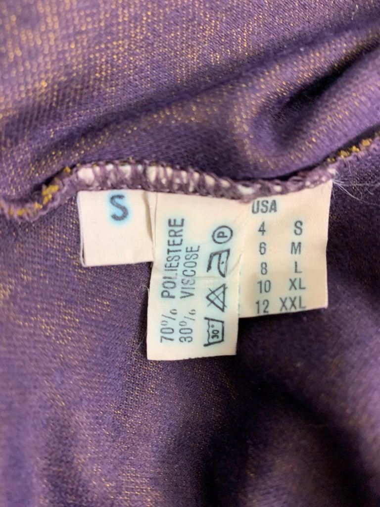 Women's 1990's Azzedine Alaia Gold Bodycon Stretch Knit Mini Dress For Sale