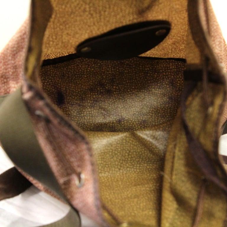 1990s Borbonese Jet Op Bucket Bag For Sale 4
