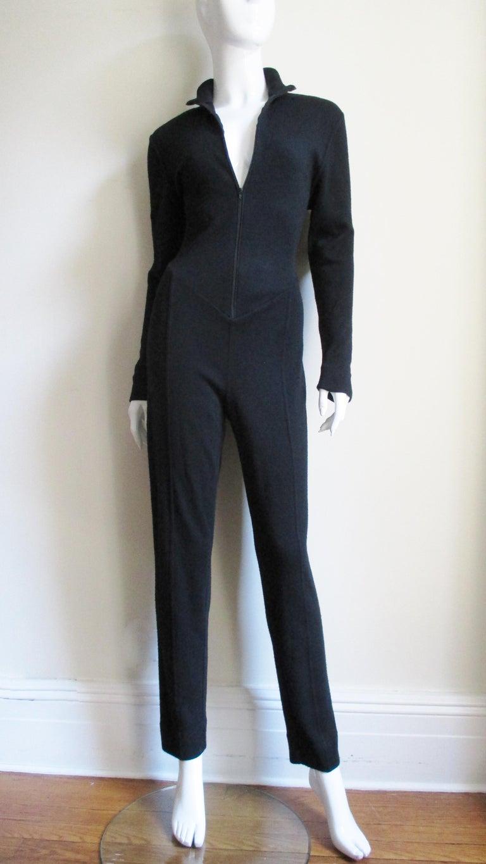 1990s Byblos Lace Back Catsuit For Sale 4