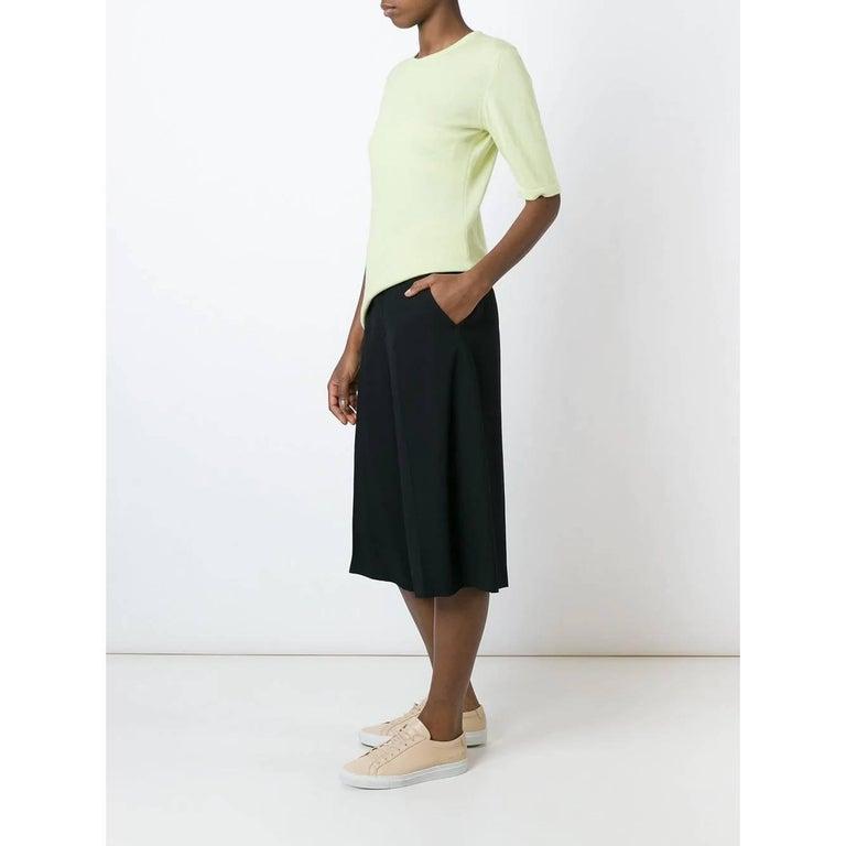 Women's 1990s Céline Mint Green Knit Top For Sale