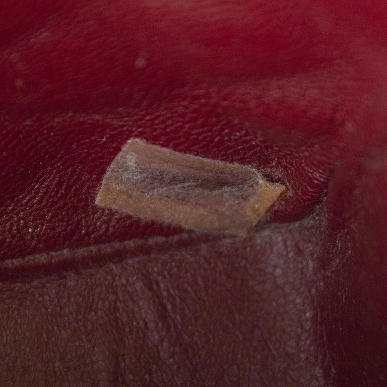 1990s Chanel Black Leather Mini Flap Bag  For Sale 5