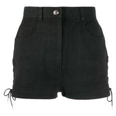 1990s Chanel Black Shorts