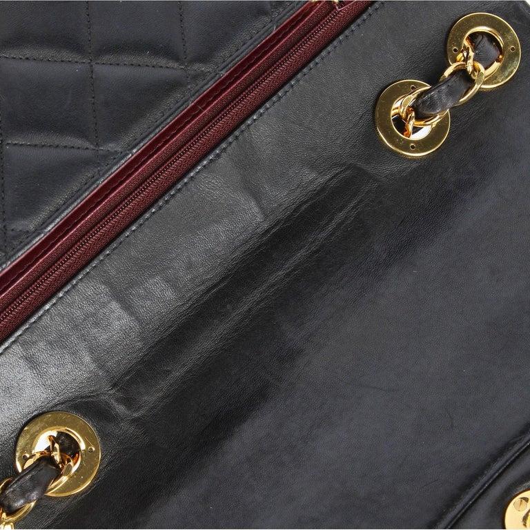 1990s Chanel Jumbo Vintage Bag For Sale 6