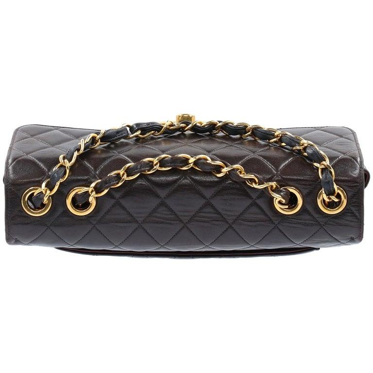 1990s Chanel Jumbo Vintage Bag For Sale 10