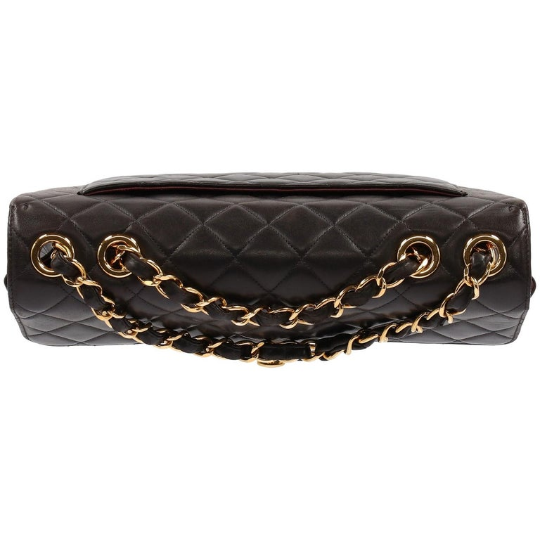 Women's 1990s Chanel Jumbo Vintage Bag For Sale