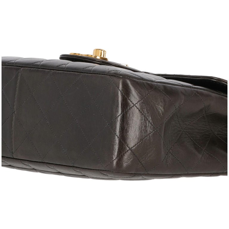 1990s Chanel Jumbo Vintage Bag For Sale 1