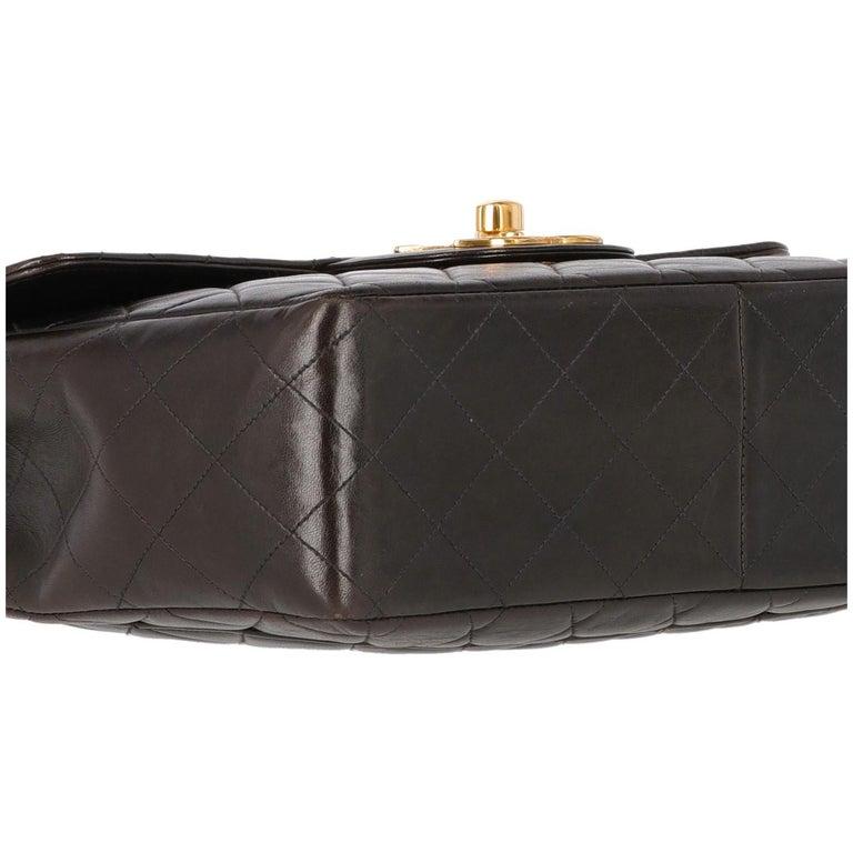 1990s Chanel Jumbo Vintage Bag For Sale 2