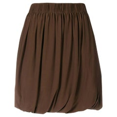 1990s Chloe Brown Balloon Skirt