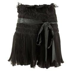 1990s Christian Dior Chiffon Skirt