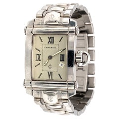 1990s Colvmbvs Charriol Stainless Steel Watch