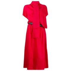 1990s Comme Des Garçons Red Dress
