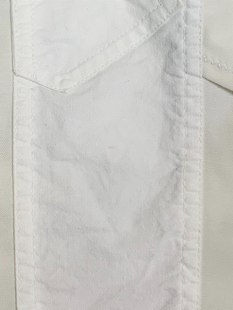 Women's 1990's Dolce & Gabbana Sheer White Mesh L/S Bustier & High Waist Skirt Set For Sale