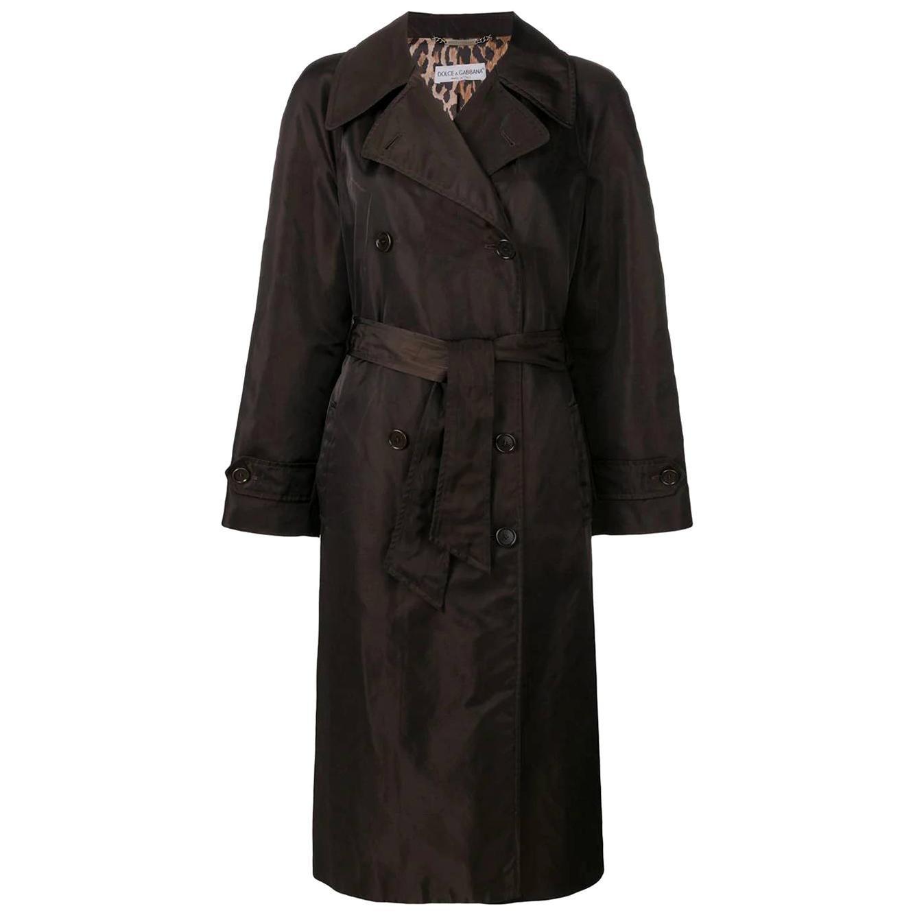 1990s Dolce&Gabbana Midi Coat