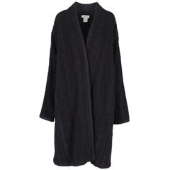 1990s Dries Van Noten Black Coat