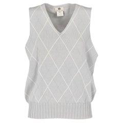1990s Dries Van Noten Diamond Pattern Vest