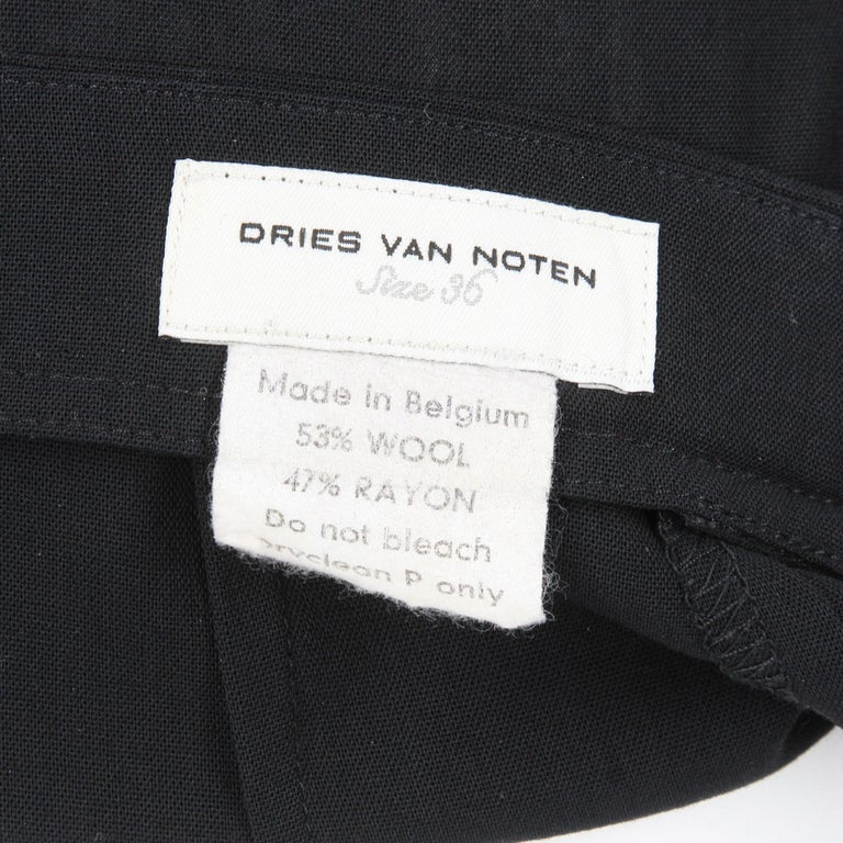1990s Dries Van Noten Pants For Sale 1