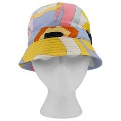 1990s Emilio Pucci Pastel Bucket Hat