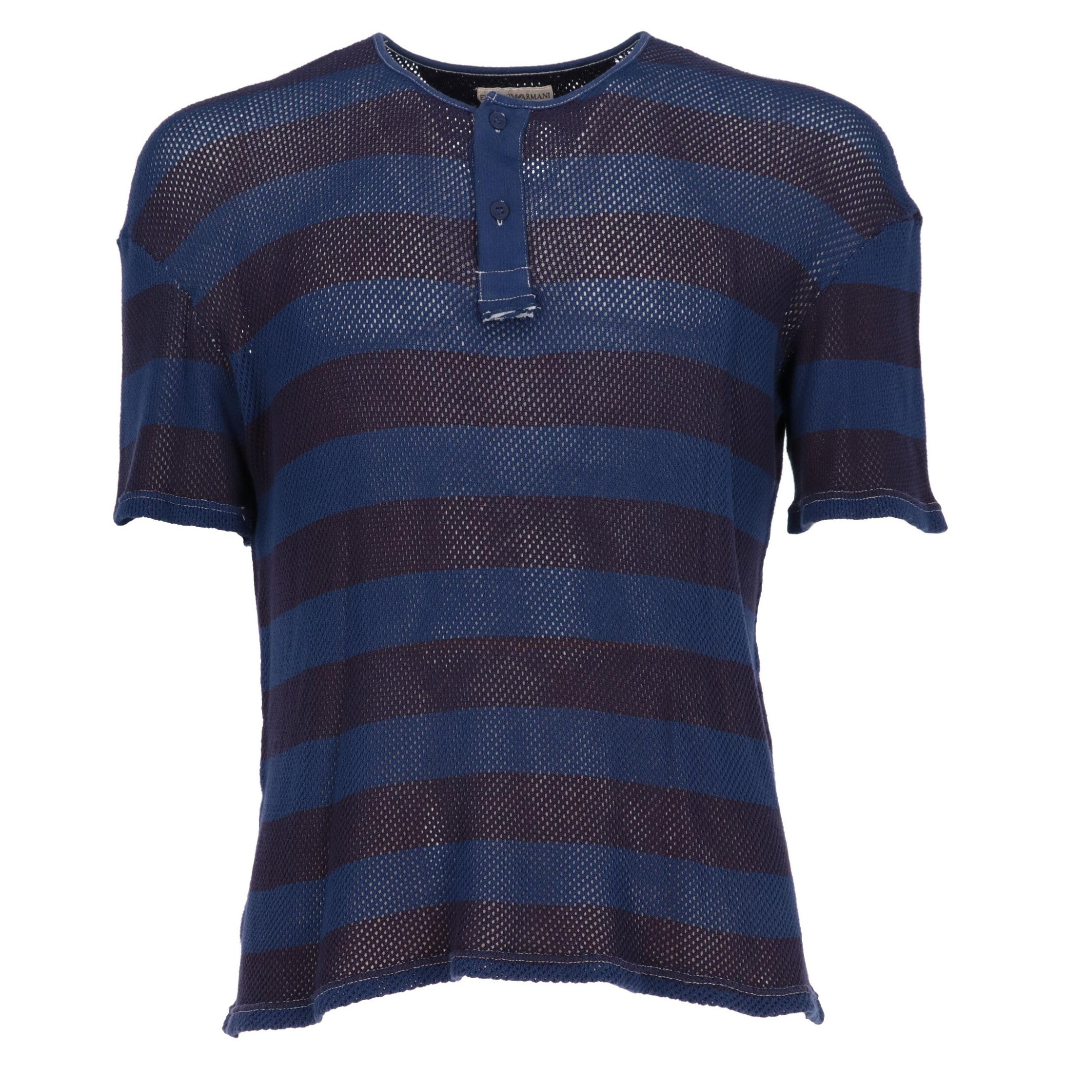 1990s Emporio Armani Knitted T-shirt