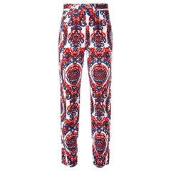 1990s Fendi Fendissime Printed Trousers