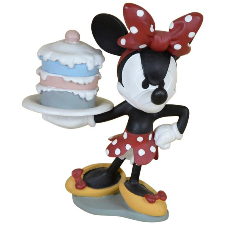 1990s French Walt Disney Minnie Mouse Angry Statue By Demons Merveilles