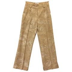 1990s Gai Mattiolo Tie Dye Trousers