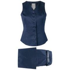 1990s Gianfranco Ferré Blue Suit