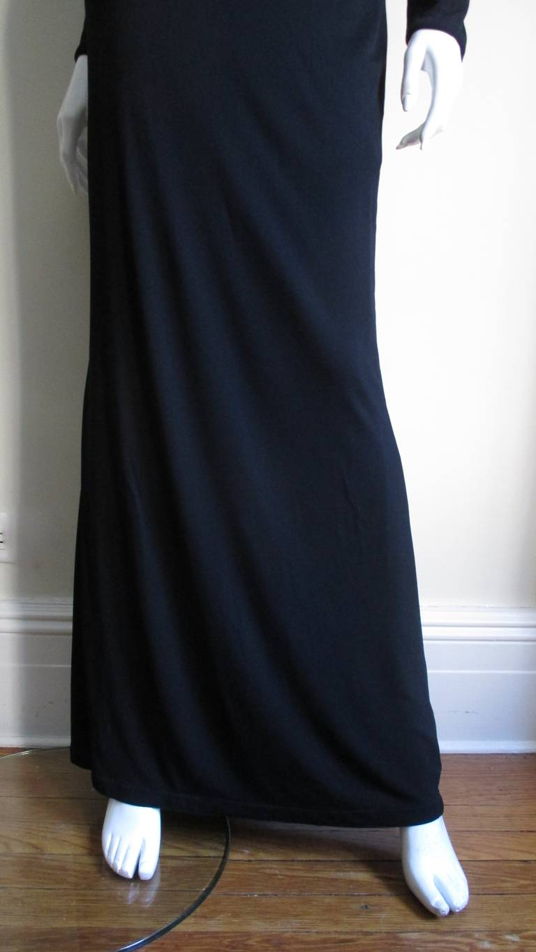 1990s Gianni Versace Cut Out Dress with Hardware For Sale 1