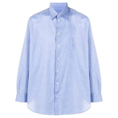 1990s Giorgio Armani Light Blue Shirt