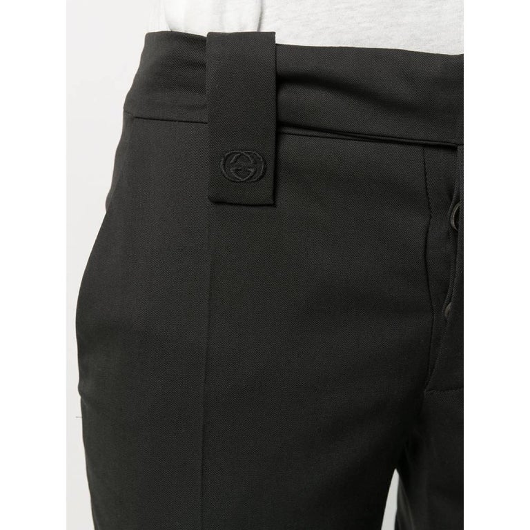 Women's 1990s Gucci Flared Trousers For Sale