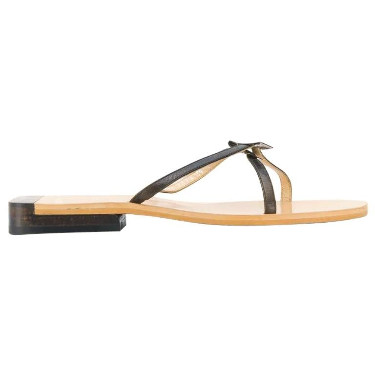 1990s Gucci Flat Sandals