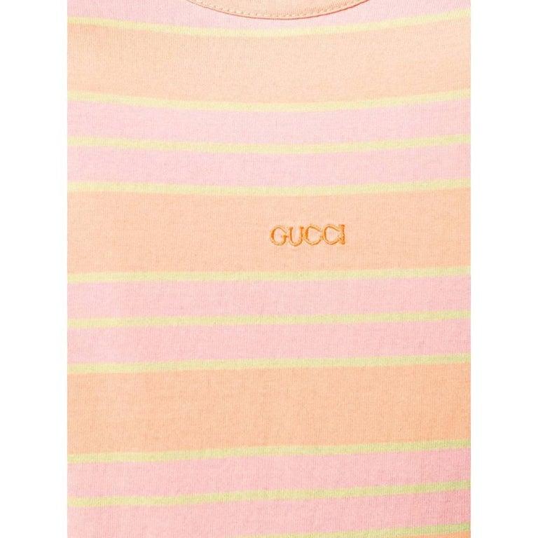 Women's 1990s Gucci multicolored top For Sale