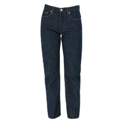 1990s Helmut Lang Blue Denim Trousers