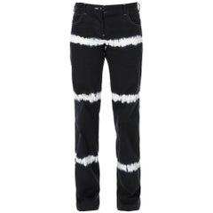 1990s Helmut Lang Tie-Dye Trousers