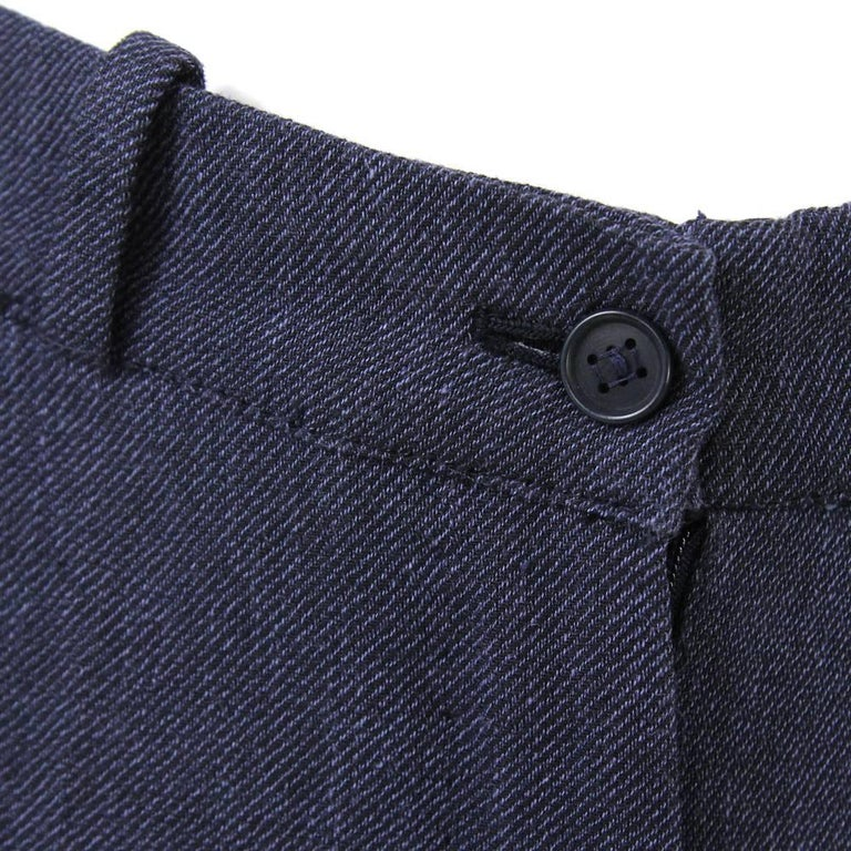 1990s Hermès Linen Pants In Good Condition For Sale In Lugo (RA), IT